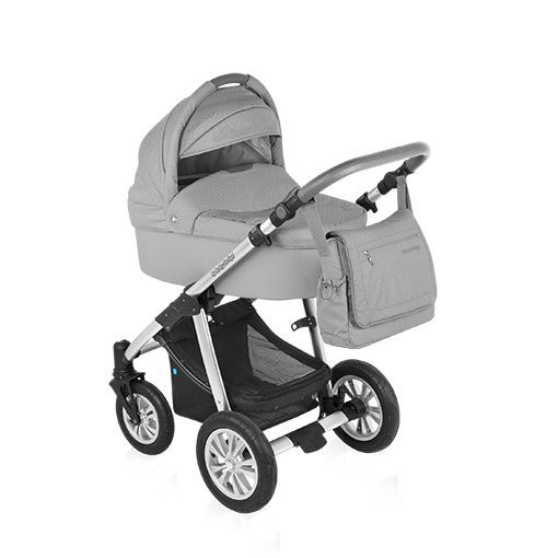 Carucior multifunctional Dotty 2 in 1 Grey