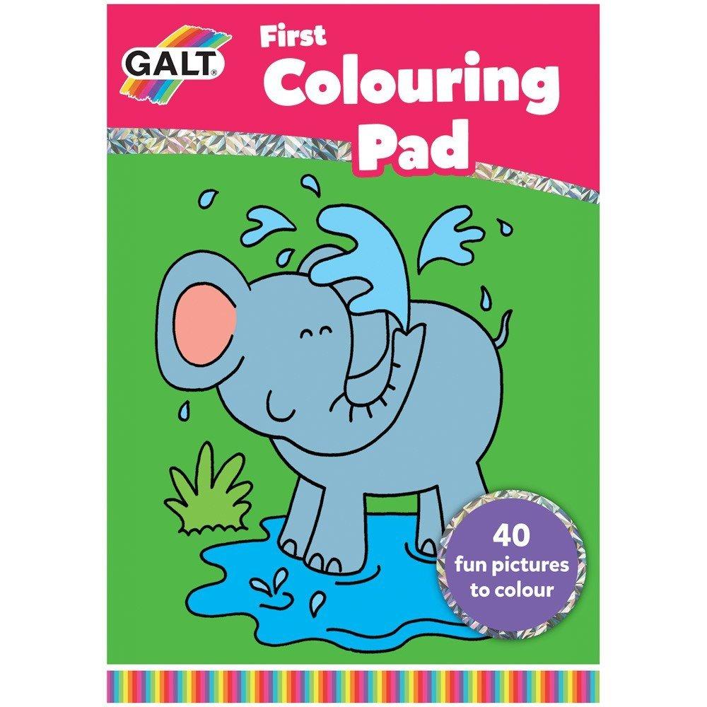 Early Activities Prima carte de colorat