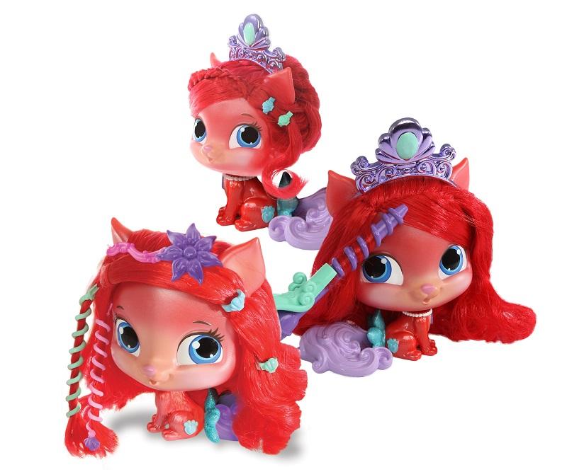 Figurina Disney 15 cm de Coafat - Treasure, Pisicuta Lui Ariel