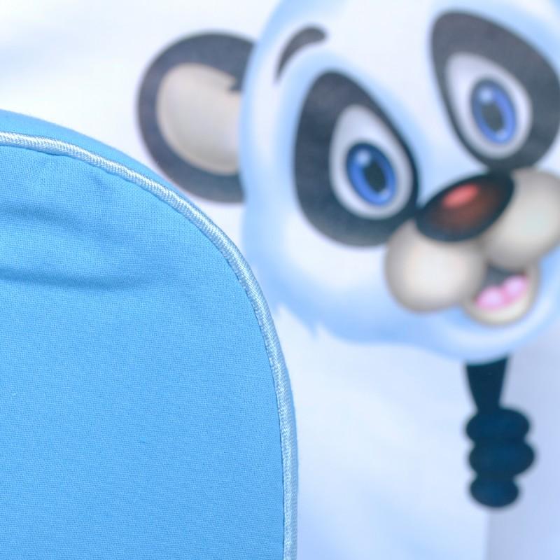 Fotoliu din burete Panda