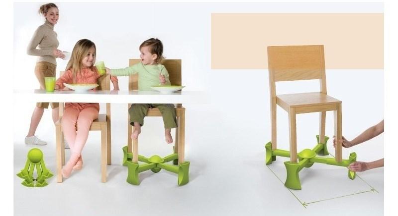 Inaltator Kaboost VERDE pentru un scaun de masa