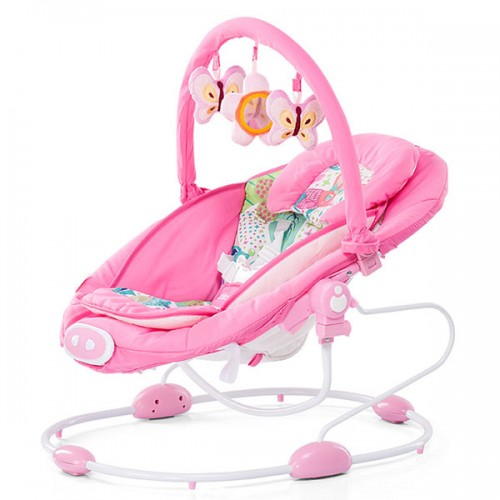 Leagan electric si balansoar Chipolino Paradise pink