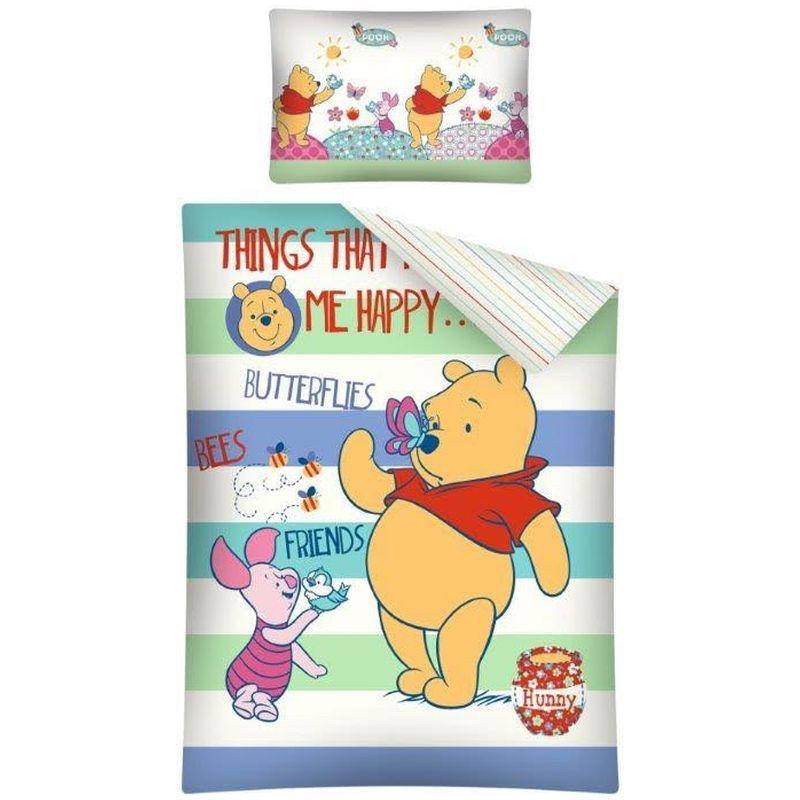Lenjerie de pat Winnie the Pooh 100 x 135cm WTP19C