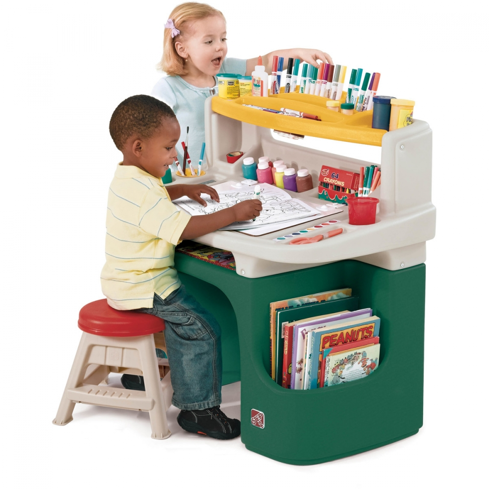 Masuta birou pentru copii Art Master Activity verde