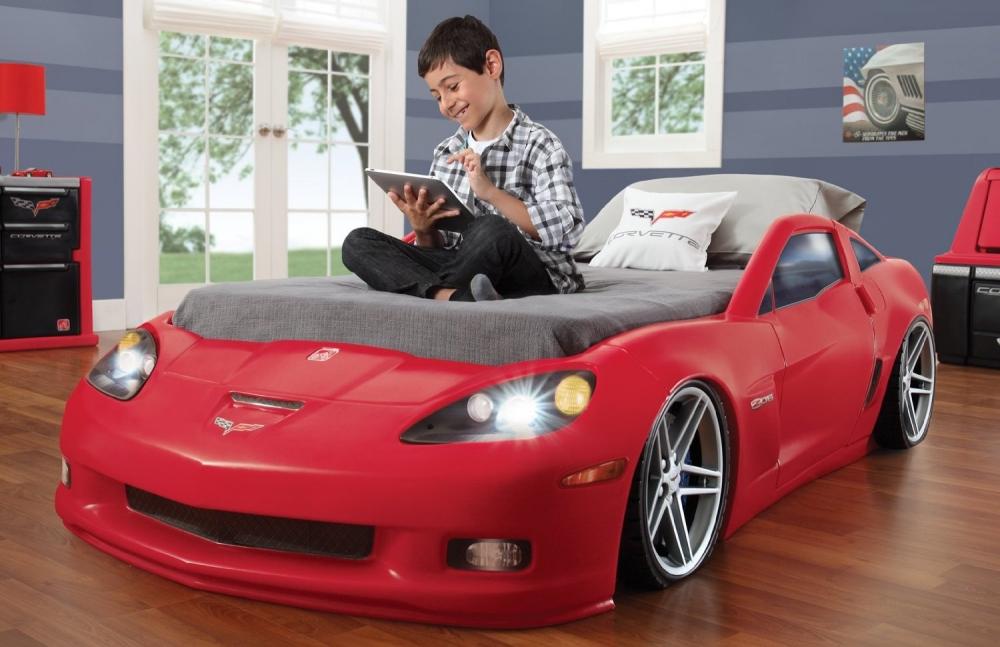 Patut Corvette cu lumini