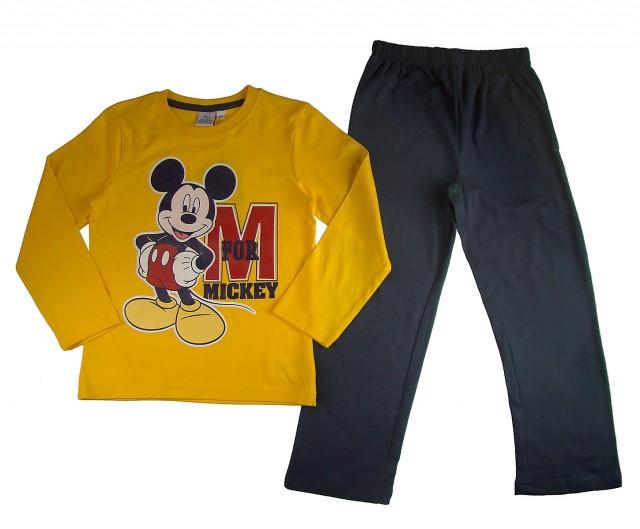 Pijama maneca lunga Mickey Mouse (Masura 104 (3-4 ani))