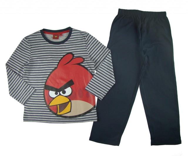 Pijama maneca lunga copii Angry Birds (Masura 104 (3-4 ani))