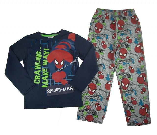 Pijama maneca lunga copii Spiderman (Masura 128 (7-8 ani))
