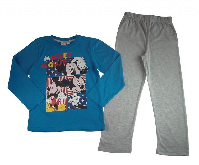 Pijamale maneca lunga Mickey Mouse (Masura 98 (2-3 ani))