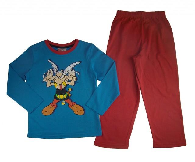 Pijamale maneca lunga copii Asterix (Masura 98 (2-3 ani))