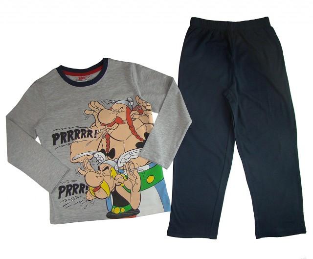 Pijamale maneca lunga copii Asterix si Obelix (Masura 104 (3-4 ani))