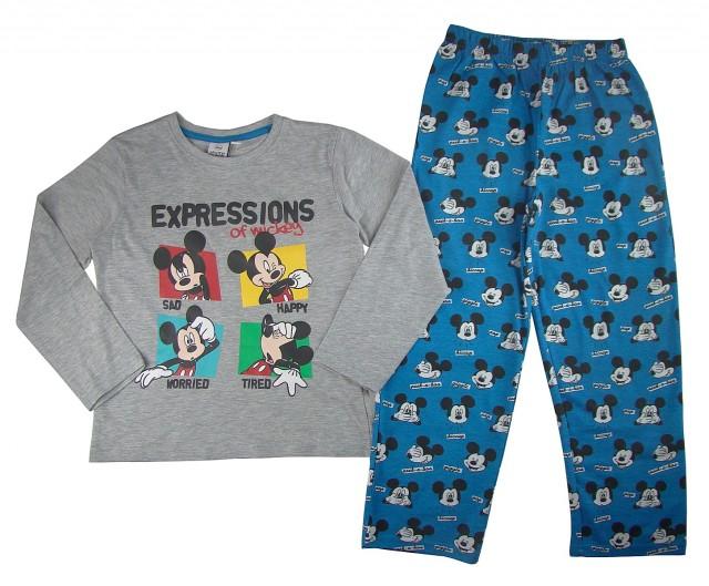 Pijamale maneca lunga copii Mickey Mouse (Masura 104 (3-4 ani))