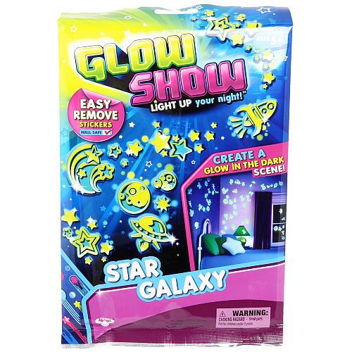 Rezerva Stickere Glow Show - Star Galaxy