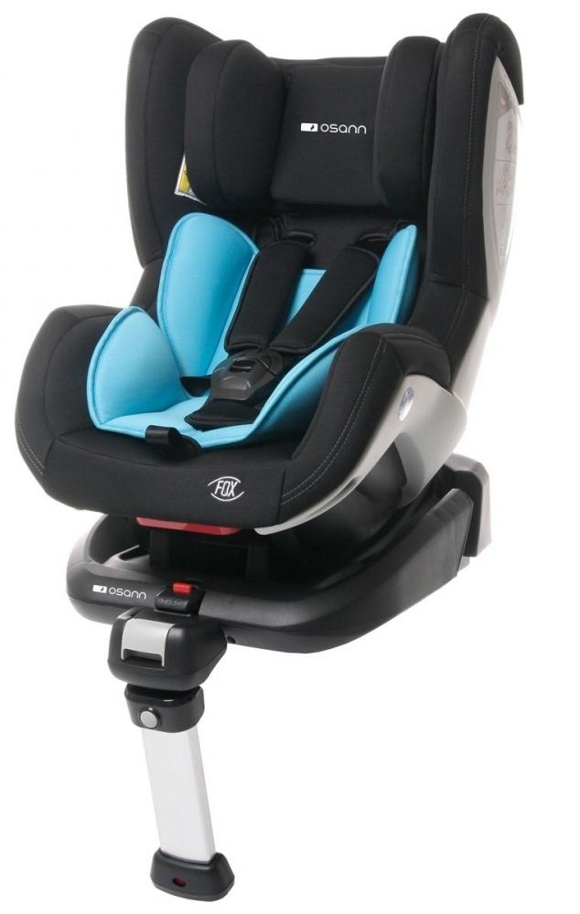 Scaun auto FOX Isofix 0-18kg. BLUE BooBoo Osann