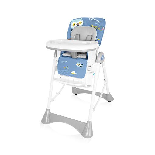 Scaun de masa Baby Design Pepe Blue Owl