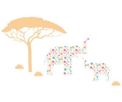 Sticker decorativ Safari
