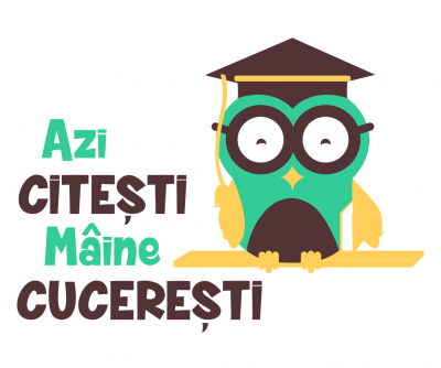 Sticker decorativ perete Citesti si cuceresti