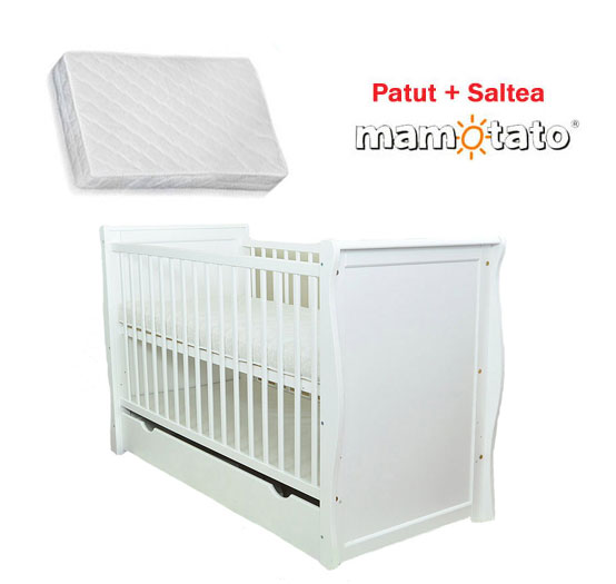 Patut multifunctional Regal White + Saltea Cocos