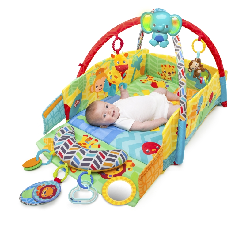 Salteluta de joaca 5 in 1 Sunny Safari Babys Play Place