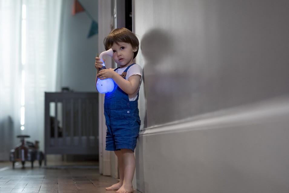 Lampa multifunctionala cu melodii Tweetsy Light Boy