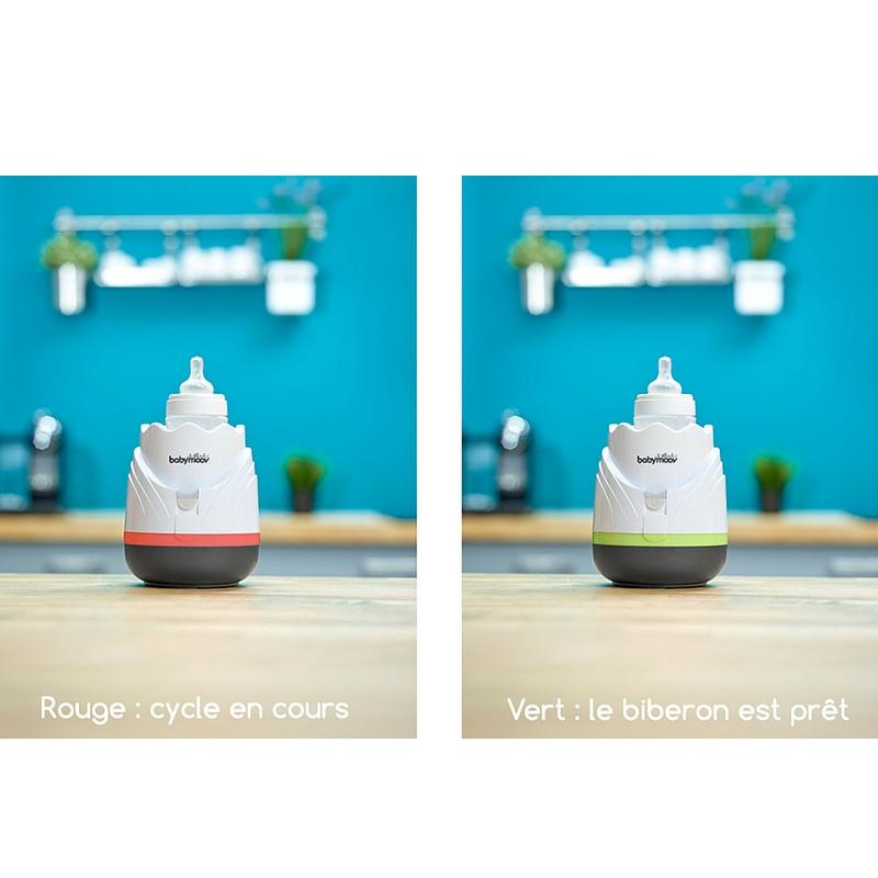 Incalzitor de biberoane si recipiente pentru casa si masina Tulip Cream imagine