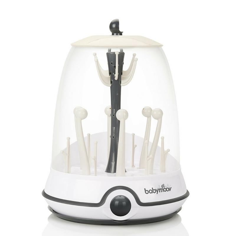 Sterilizator electric si uscator de biberoane 2 in1 Turbo Cream
