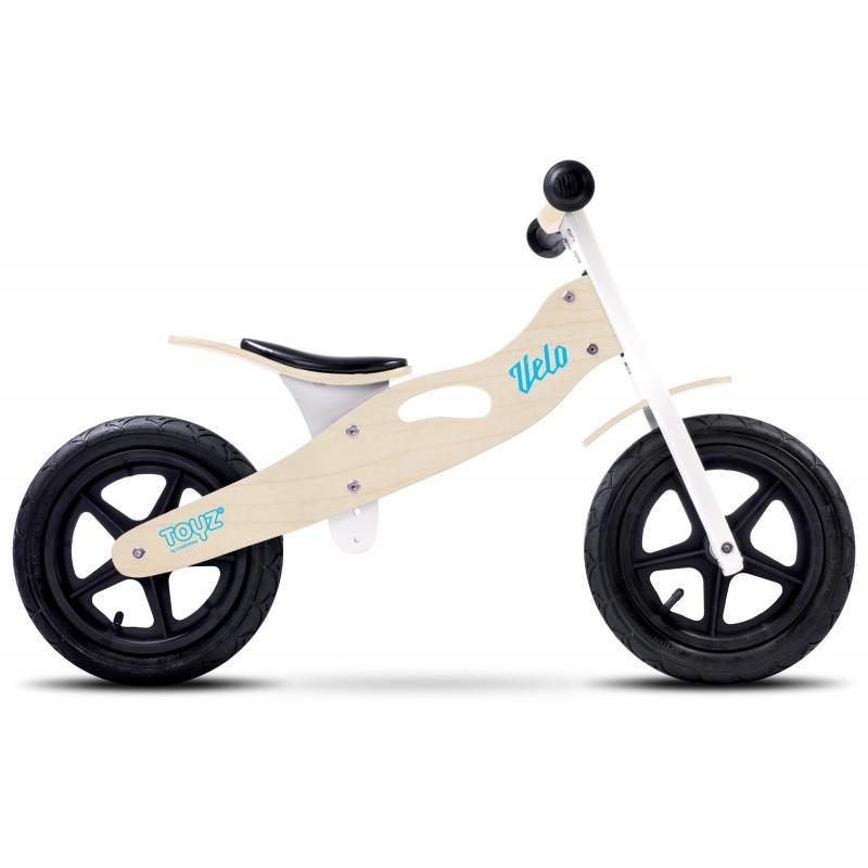 Bicicleta de lemn fara pedale Toyz Velo Natur