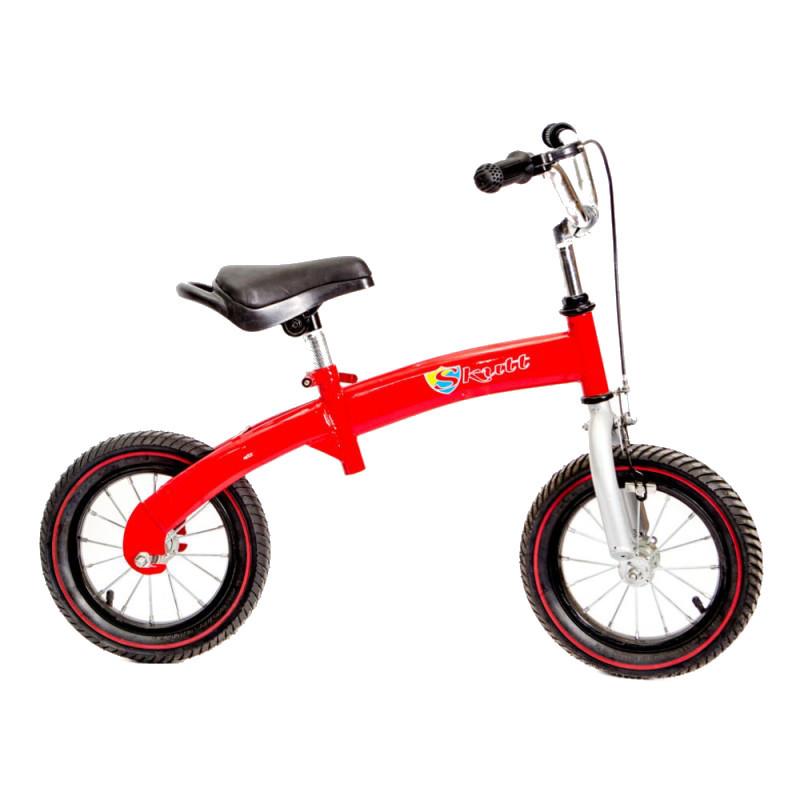 Bicicleta fara pedale Skutt Velox Red