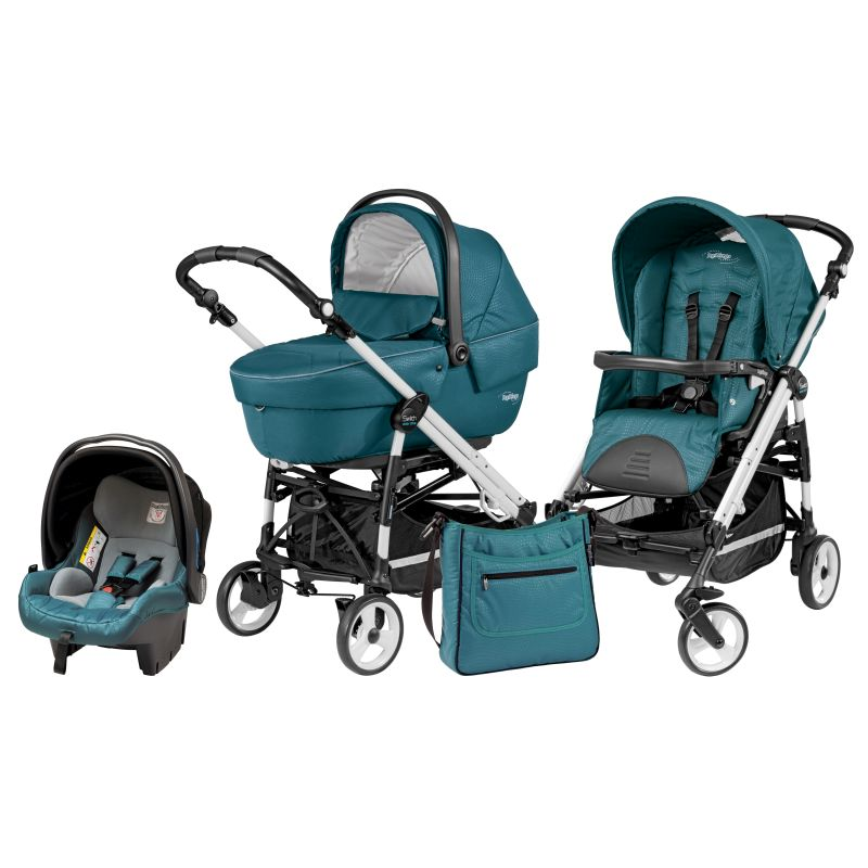 Carucior 3 in 1 Pliko Switch Easy Drive Sportivo oceano