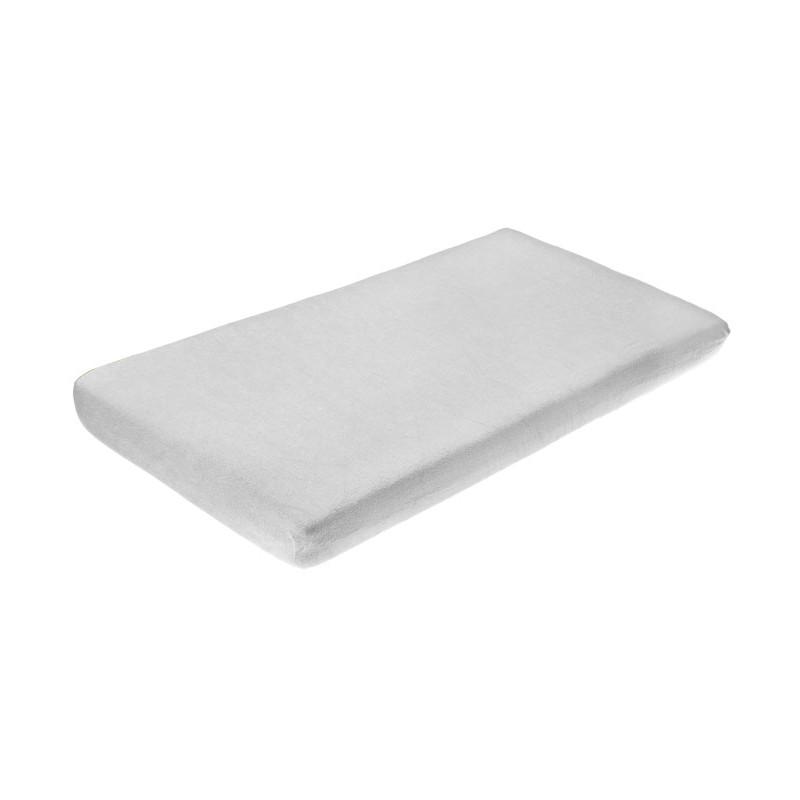 Cearceaf de bumbac cu elastic 120x60 cm Grey