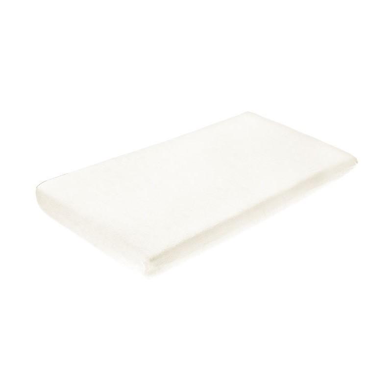 Cearceaf de bumbac cu elastic 120x60 cm Ivory