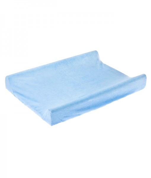 Husa de bumbac 100 pentru salteaua de infasat 70x50 cm Blue