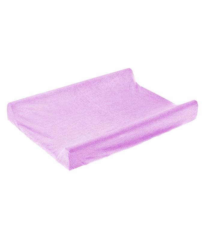 Husa de bumbac 100 pentru salteaua de infasat 70x50 cm Violet