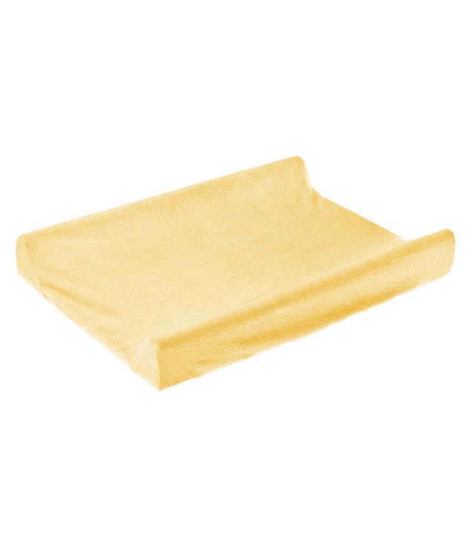 Husa de bumbac 100 pentru salteaua de infasat 70x50 cm Yellow