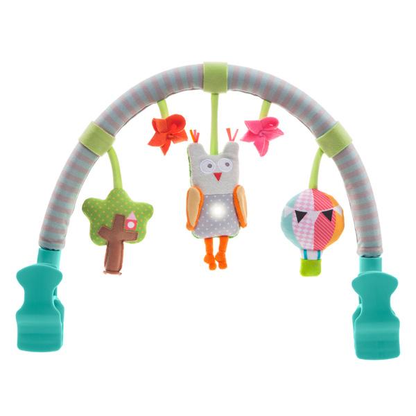 Jucarie carucior - Arcada muzicala Bufnita Taf Toys - 3