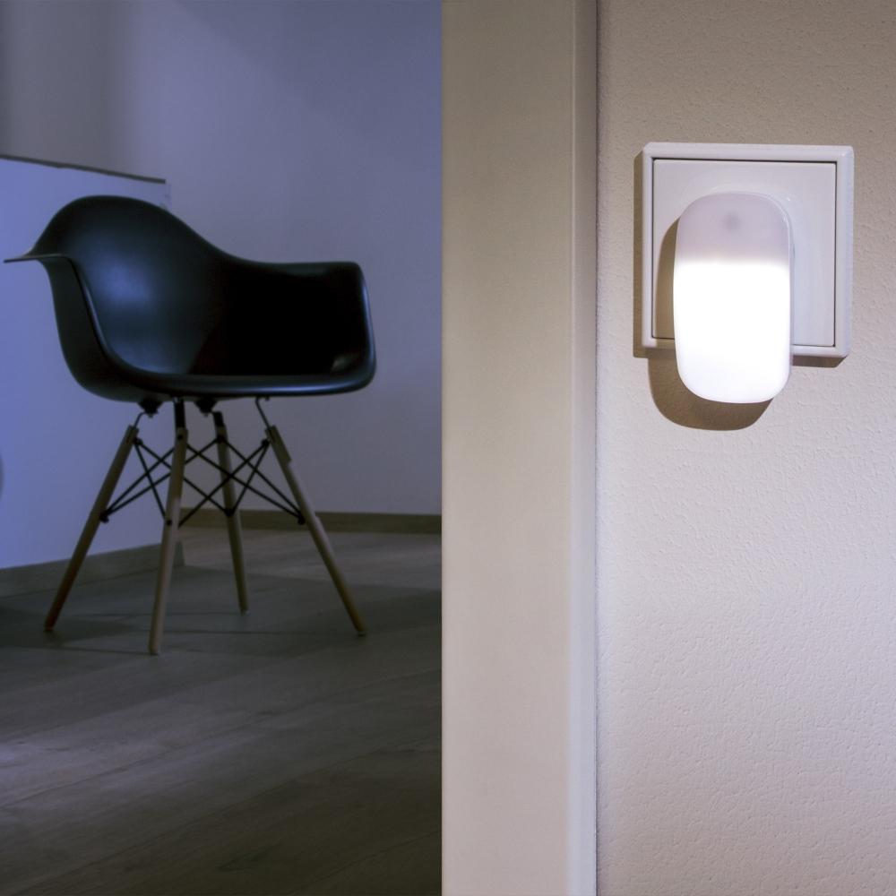 Lampa ambient led cu senzor de lumina alba Ansmann