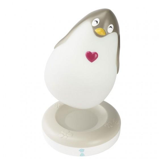 Lampa de veghe pentru copii si bebelusi Pabobo LumiLove Pinguin imagine