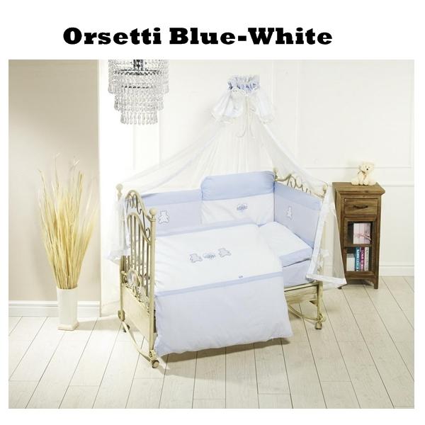 Lenjerie De Pat Feretti Trio Orsetti Bluewhite