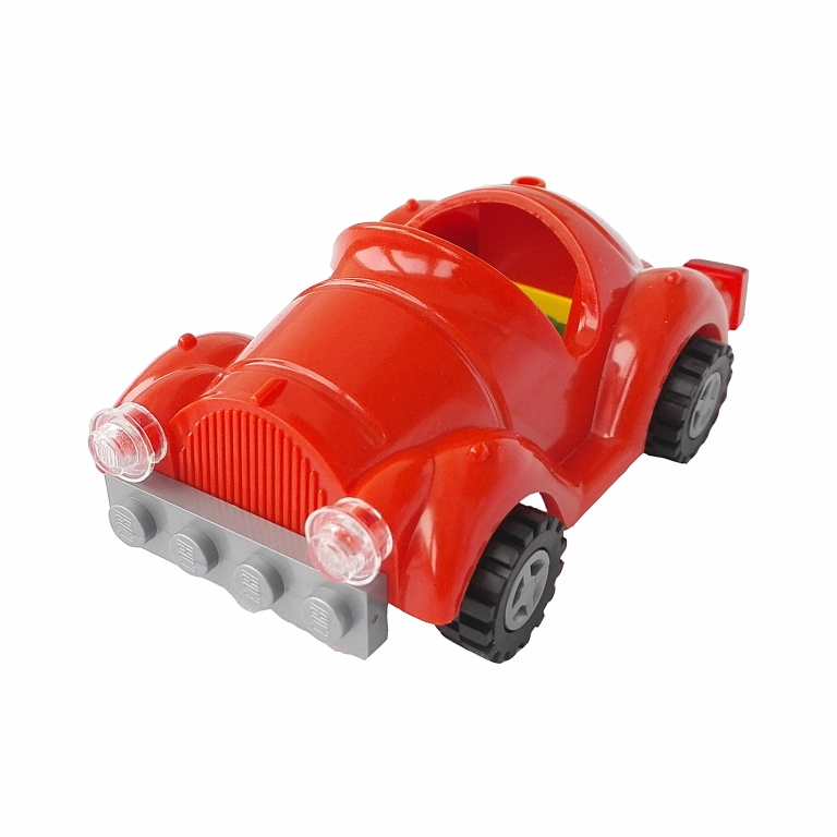 Masina de epoca decapotabila (rosu) - Cobi