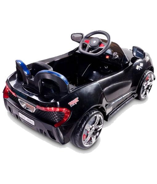 Masinuta electrica cu telecomanda Toyz Aero 2x6V Black