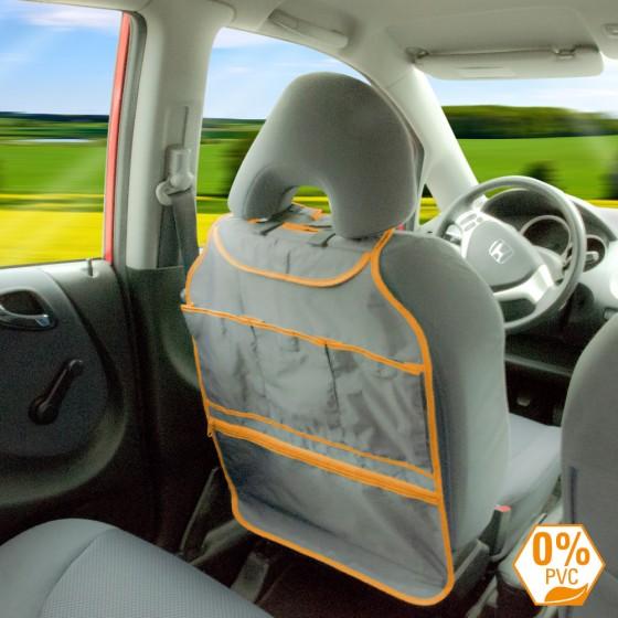 Organizator scaun masina portocaliu
