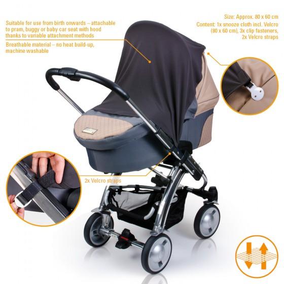 Paturica pentru umbra carucior sau scaun de masina