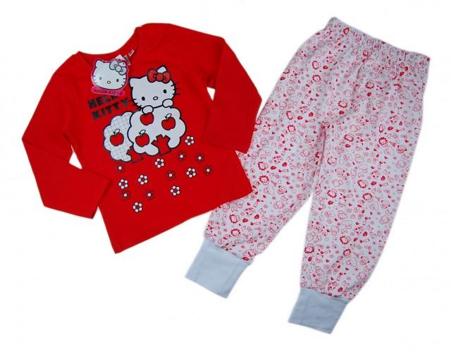 Pijama licenta Hello Kitty (Masura 128 (7-8 ani))