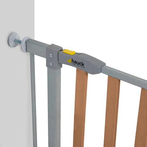 Poarta Siguranta Wood Lock Safety GateSilver