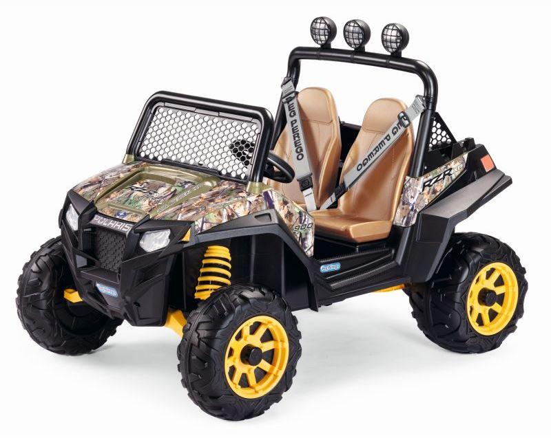 Masinuta electrica Polaris Ranger RZR 900 Camouflage