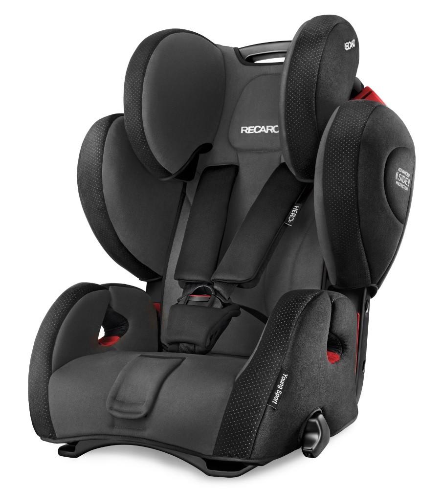 Scaun auto pentru Copii fara Isofix Young Sport Hero Black