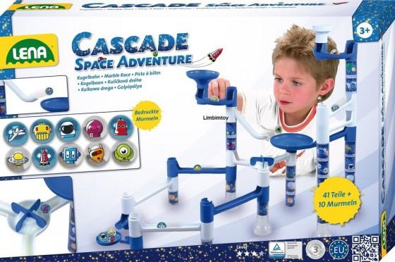 Set de joaca labirint de bile 41 piese si 10 bile Space Adventure
