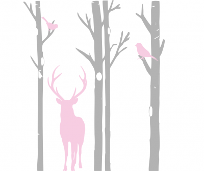 Sticker decorativ perete Forest Trees