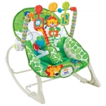 Balansoar 2 in 1 cu vibratii Jungle Green