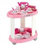 Carucior cu Set  Ceai Hello Kitty